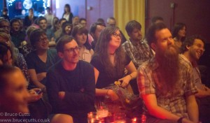 The beautiful audience, The Real Story Live, April 22nd 2015 — at Gullivers NQ.