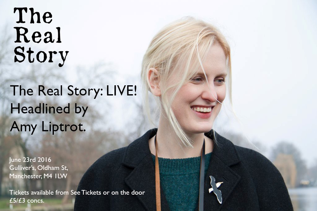 The Real Story: LIVE! headlined by Amy Liptrot