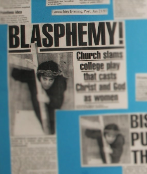 The Fourteen Stations of Blasphemy by David Hartley